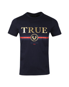 True Religion Mens Blue True T Shirt