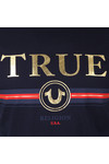 True Religion Mens Blue True T Shirt