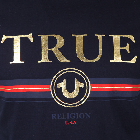 True Religion Mens Blue True T Shirt main image