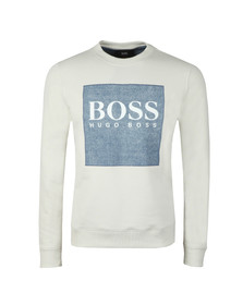 BOSS Orange Mens White Wedford Sweatshirt