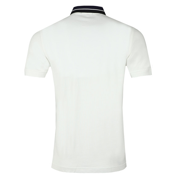 Fred Perry Mens White S/S Bold Tipped Polo main image