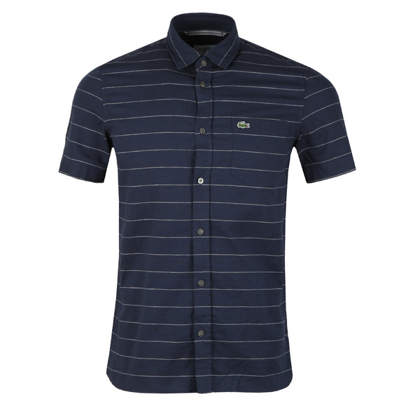 Lacoste Mens Blue S/S CH4966 Shirt main image