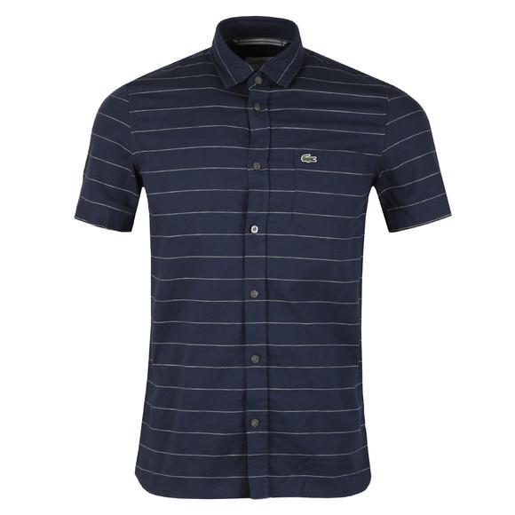 Lacoste Mens Blue S/S CH4966 Shirt