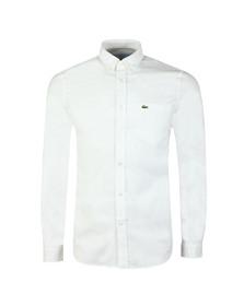 Lacoste Mens White L/S CH4976 Shirt