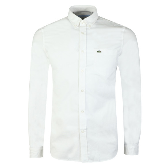 Lacoste Mens White L/S CH4976 Shirt main image