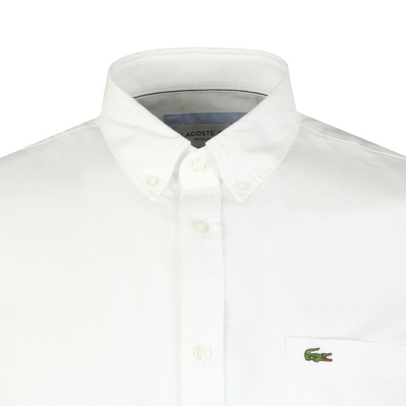 Lacoste Mens White S/S CH4975 Shirt main image