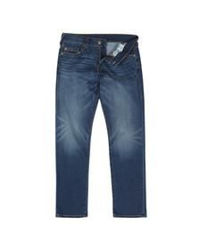 True Religion Mens Blue Geno No Flap Slim Jean