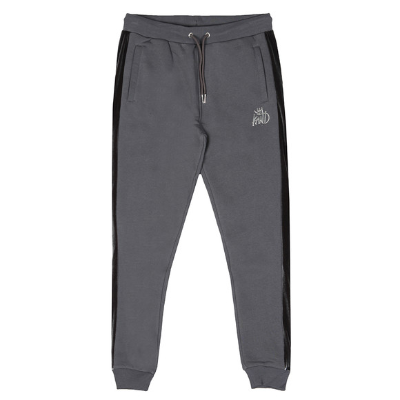 Kings Will Dream Mens Grey Stanford Cuff Velour Panel Jogger main image