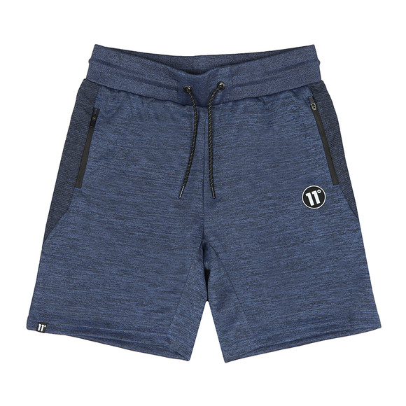 Eleven Degrees Mens Blue Helden Sweatshort main image