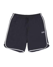 Boss Mens Blue Loungewear Stretch Shorts