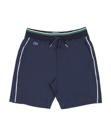Lacoste Sport Mens Blue Contrast Edging Short