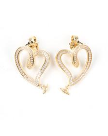 Vivienne Westwood Womens Gold Sosanna Small Earring