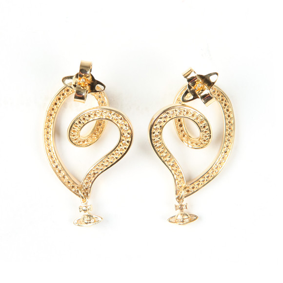Vivienne Westwood Womens Gold Sosanna Small Earring main image