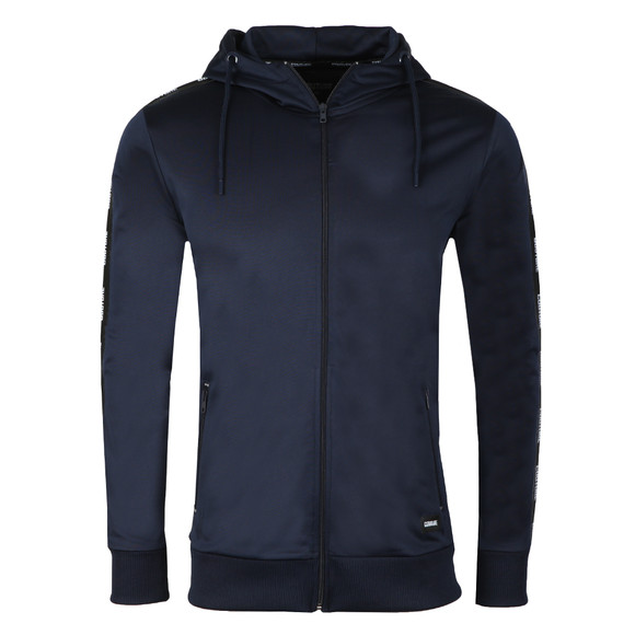 Fresh Couture Mens Blue Poly Taped Hoody main image