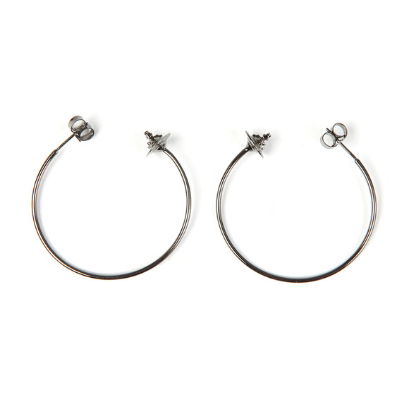 Vivienne Westwood Womens Grey Rosemary Earrings main image
