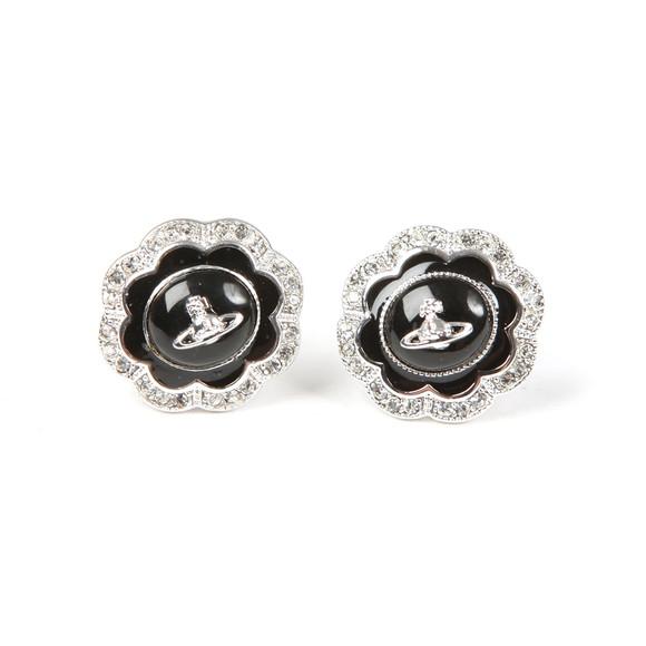 Vivienne Westwood Womens Silver Fiorella Stud Earrings main image