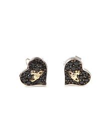 Vivienne Westwood Womens Silver Freya Earrings