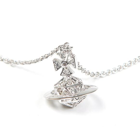 Vivienne Westwood Womens Silver Bessie Orb Pendant main image