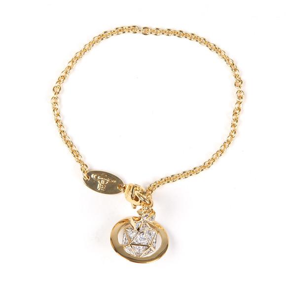 Vivienne Westwood Womens Gold Bessie Orb Bracelet main image