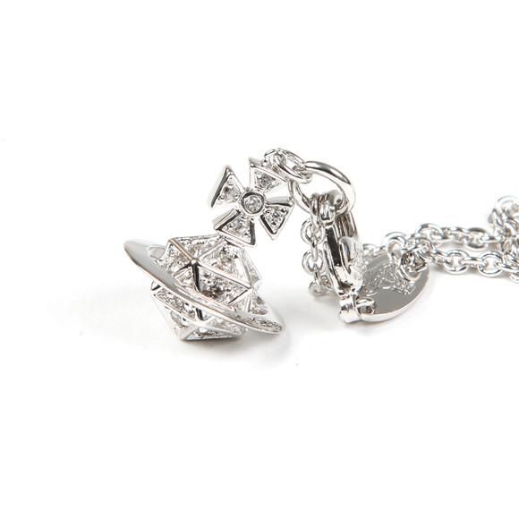 Vivienne Westwood Womens Silver Bessie Orb Bracelet main image