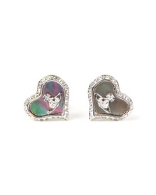 Vivienne Westwood Womens Grey Petra Earrings