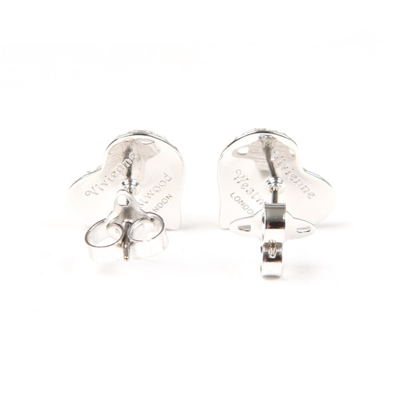 Vivienne Westwood Womens Grey Petra Earrings main image