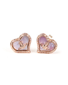 Vivienne Westwood Womens Pink Petra Earrings