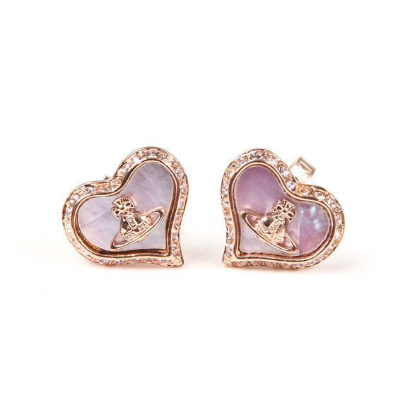 Vivienne Westwood Womens Pink Petra Earrings main image