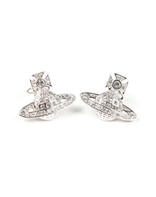 Vivienne Westwood Womens Silver Minnie  Bas Relief Earring