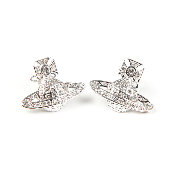 Vivienne Westwood Womens Silver Minnie  Bas Relief Earring main image