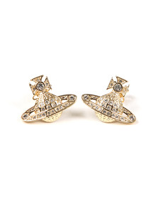 Vivienne Westwood Womens Gold Minnie  Bas Relief Earring