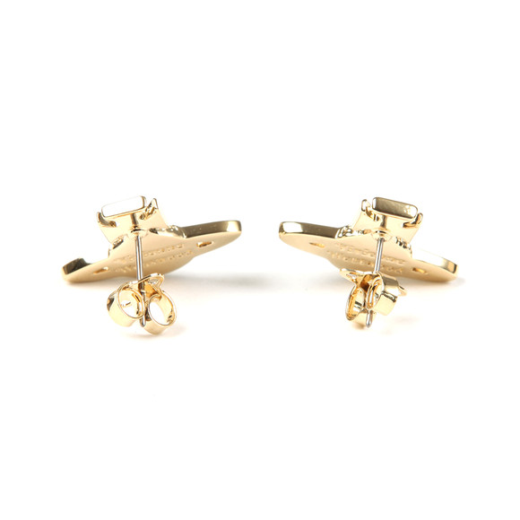 Vivienne Westwood Womens Gold Minnie  Bas Relief Earring main image