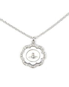 Vivienne Westwood Womens Silver Fiorella Pendant