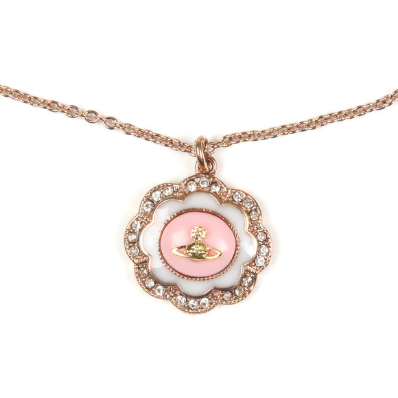 Vivienne Westwood Womens Pink Fiorella Pendant main image
