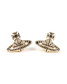 Vivienne Westwood Womens Gold Jack Bas Relief Earring
