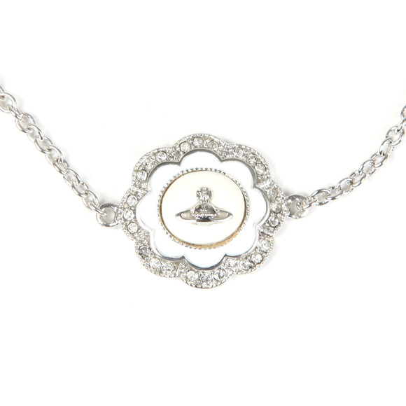Vivienne Westwood Womens Silver Fiorella Bracelet main image
