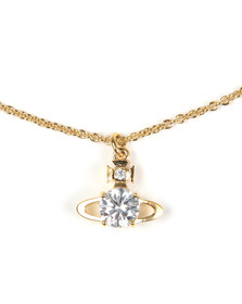 Vivienne Westwood Womens Gold Reina Pendant