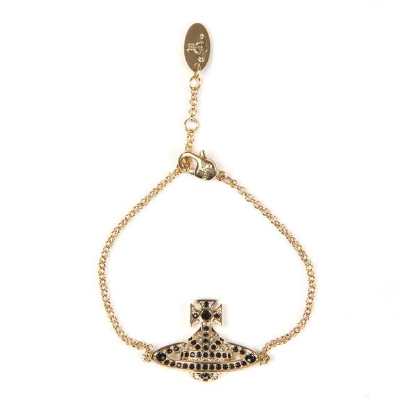 Vivienne Westwood Womens Gold Jack Bas Relief Bracelet main image