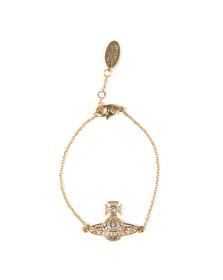 Vivienne Westwood Womens Gold Minnie Bas Relief Bracelet