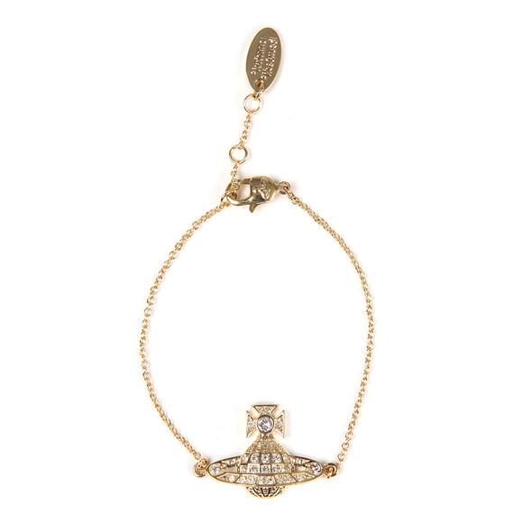 Vivienne Westwood Womens Gold Minnie Bas Relief Bracelet main image