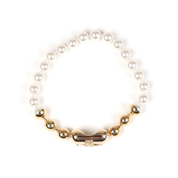 Vivienne Westwood Womens Off-White Olga Small Bracelet main image
