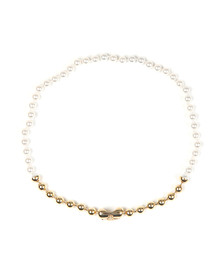 Vivienne Westwood Womens Off-white Olga Necklace