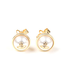 Vivienne Westwood Womens Gold Olga Small Earring