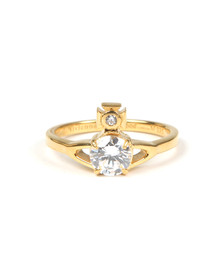 Vivienne Westwood Womens Gold Reina Ring