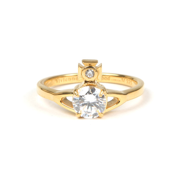 Vivienne Westwood Womens Gold Reina Ring main image