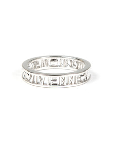 Vivienne Westwood Womens Silver Westminster Ring