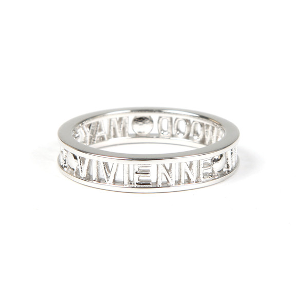 Vivienne Westwood Womens Silver Westminster Ring main image