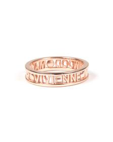 Vivienne Westwood Womens Pink Westminster Ring