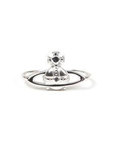 Vivienne Westwood Womens Silver Suzie Ring