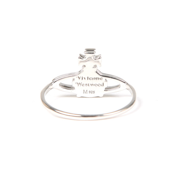 Vivienne Westwood Womens Silver Suzie Ring main image